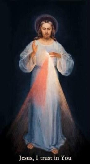 Divine Mercy image - Jesus, I trust in You