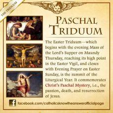 Paschal Triduum