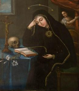 Rita in prayer