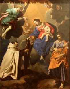 The Virgin and Saint Simon Stock, by Nicolas Mignard (1606–1668)