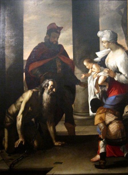 The Pardon of Saint John Chrysostom by Mattia Preti, Cincinnati Art Museum