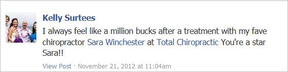 Winchester 4 testimonial