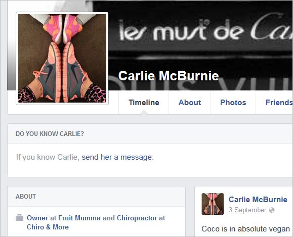 McBurnie 21 profile pic chiropractor at Chiro and More
