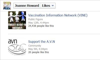 Howard 1 likes AVN and VINE