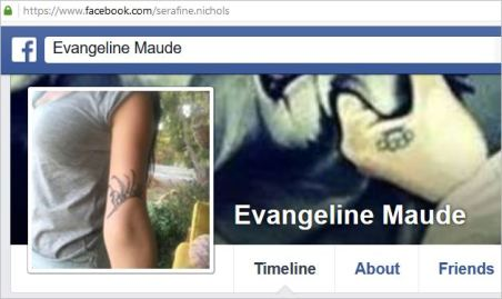 Nichols 1 Evangeline Maude and username