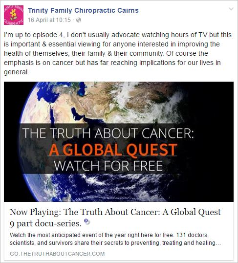 Courtney 3 Truth About Cancer