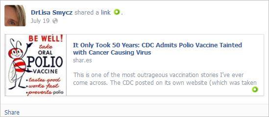 Smycz 5 polio cancer