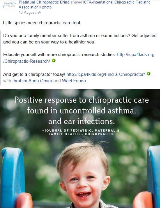 Hodgson 10 asthma ear infections ICPA