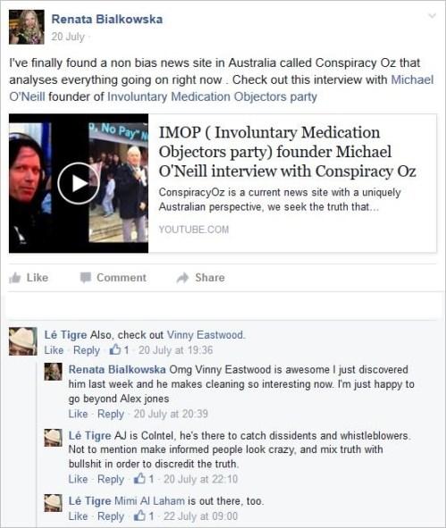 Bialkowska 1 conspiracy oz brilliant profile