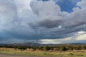 Arizona, rain, distance, monsoon, landscape,