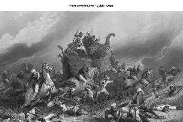 استخدام الفيلة في حروب الهند