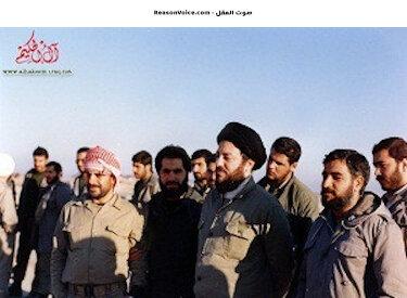 محمد باقر الحكيم ايام جهاده ضد العراق