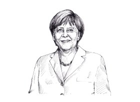 انجيلا ميركل - المستشارة الالمانية