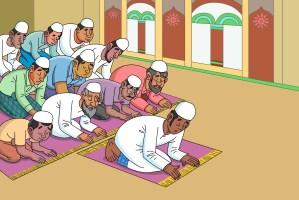 صلاة المسلمين