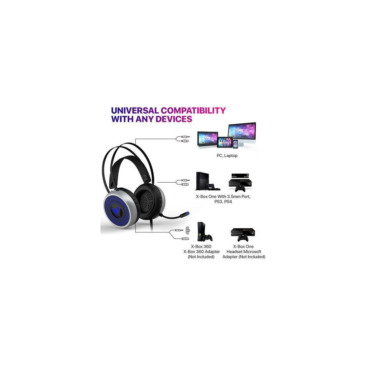 Newest Gaming Headset For Xbox One S X Ps3 Ps4 Pc