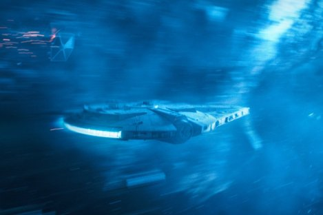 SOLO: A STAR WARS STORY The Millenium Falcon