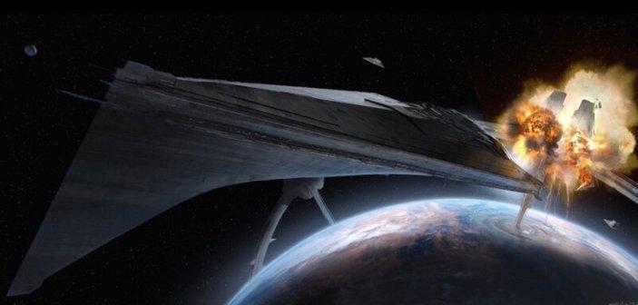 Bohaterowie wysadzają pierścień nad Kuat i porywają gwiezdny niszczyciel Eclipse