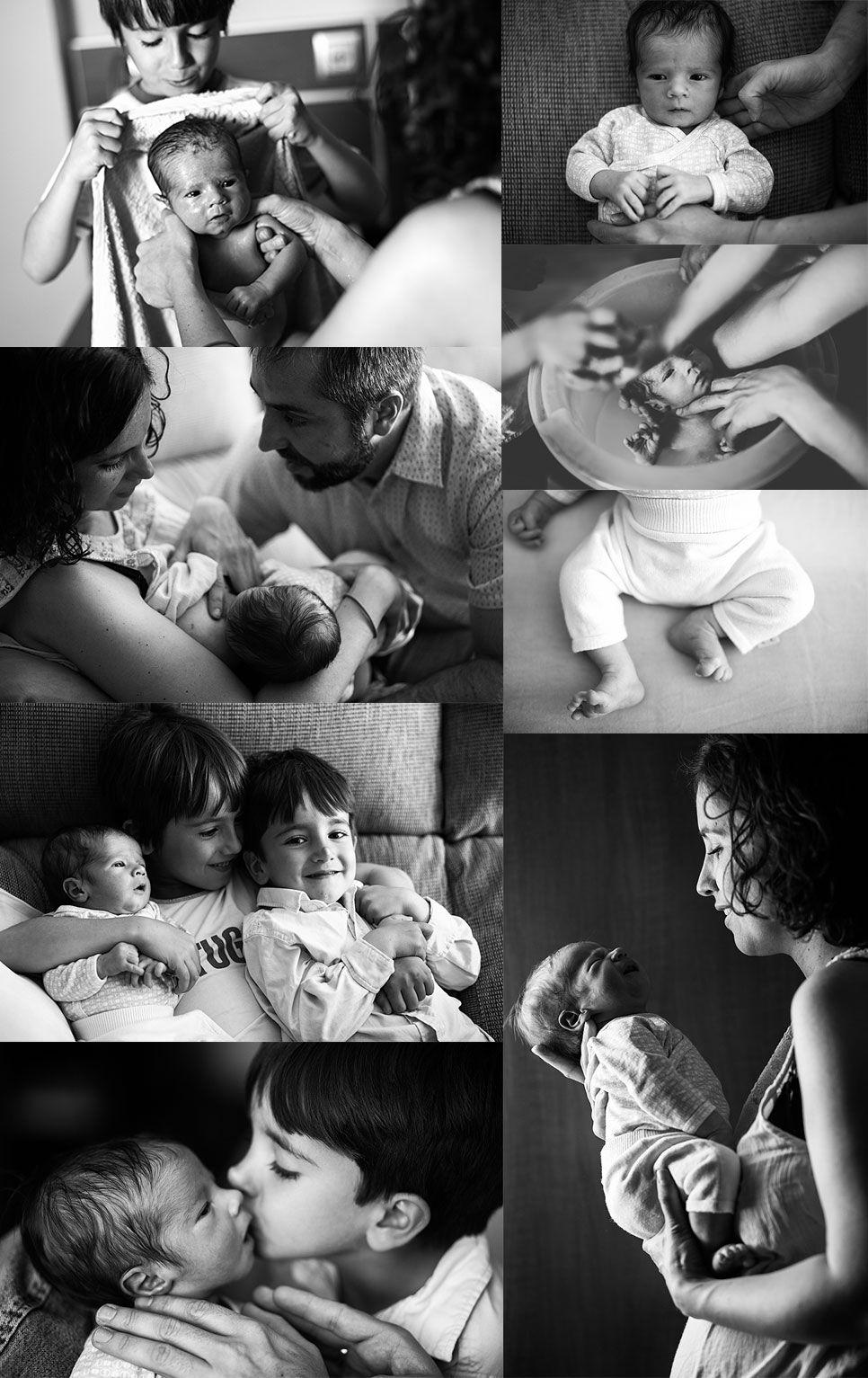 Sesiones fotográficas de recién nacido en casa