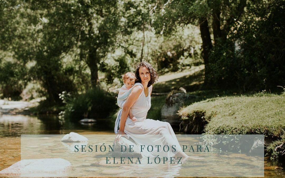 Sesión de fotos para Elena López de Monitos y Risas