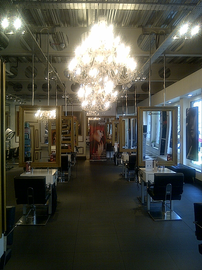 Salon spy the house of rush london rebecca barnes - London best hair salon ...