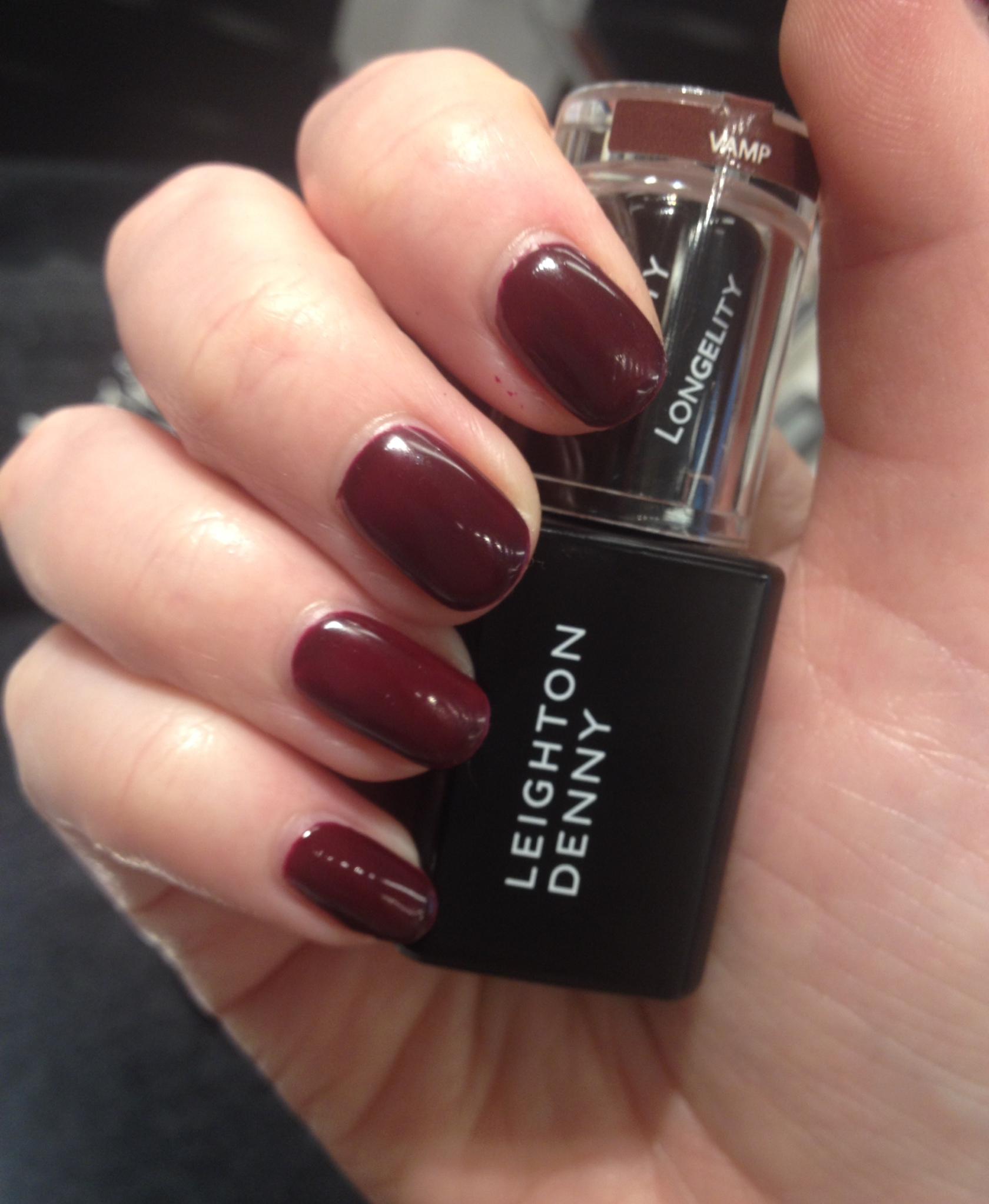 Leighton Denny LonGELity in-salon gel treatment - Rebecca Barnes