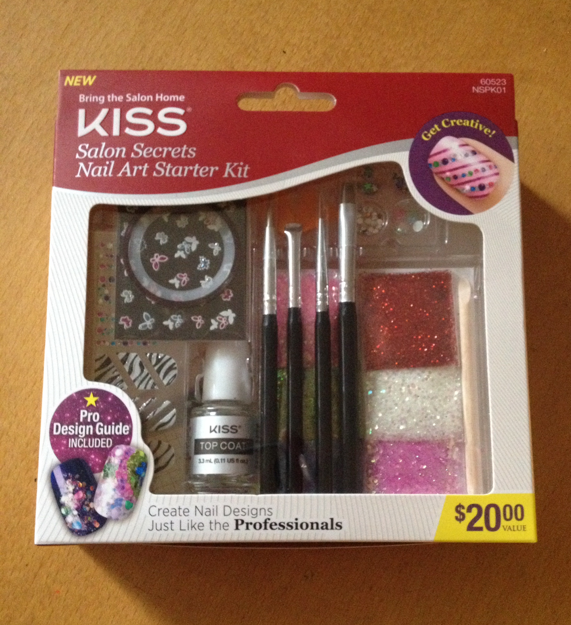 Kiss Salon Secrets Nail Art Pro Tool Kit Nsat01: Kiss New Nail Products