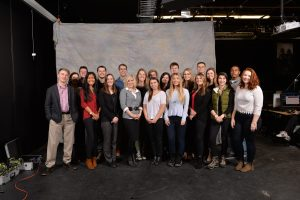 COMSTRAT 310 students