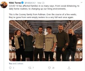 Nikki Torres Tweet