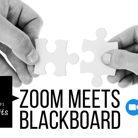 Teaching Tidbits - Zoom Meets Blackboard