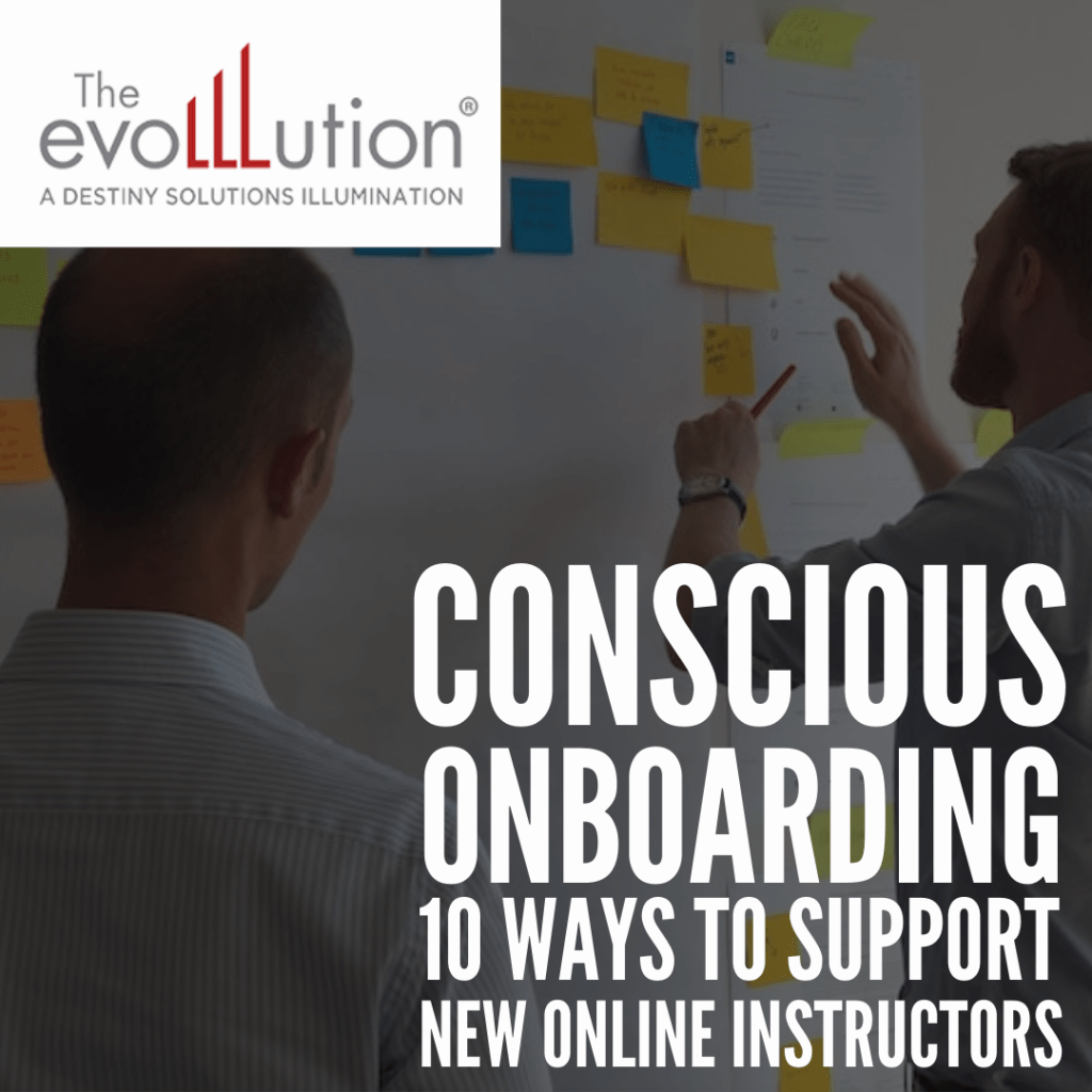 Evolllution article Conscious Onboarding...