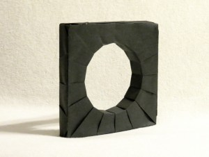 Round hole in a square peg