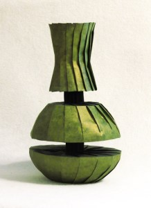 Doubly divided vase