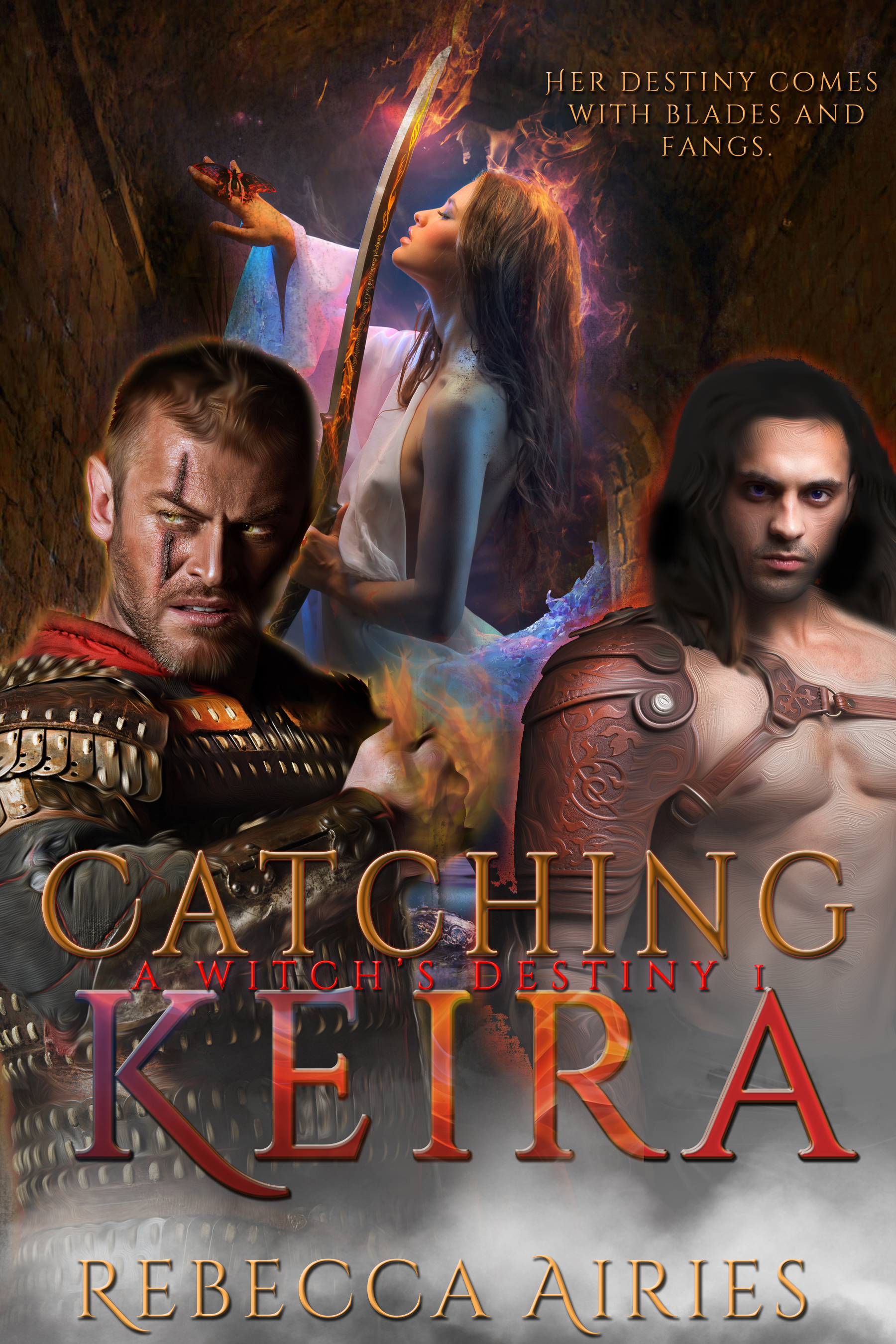 Catching Keira Cover