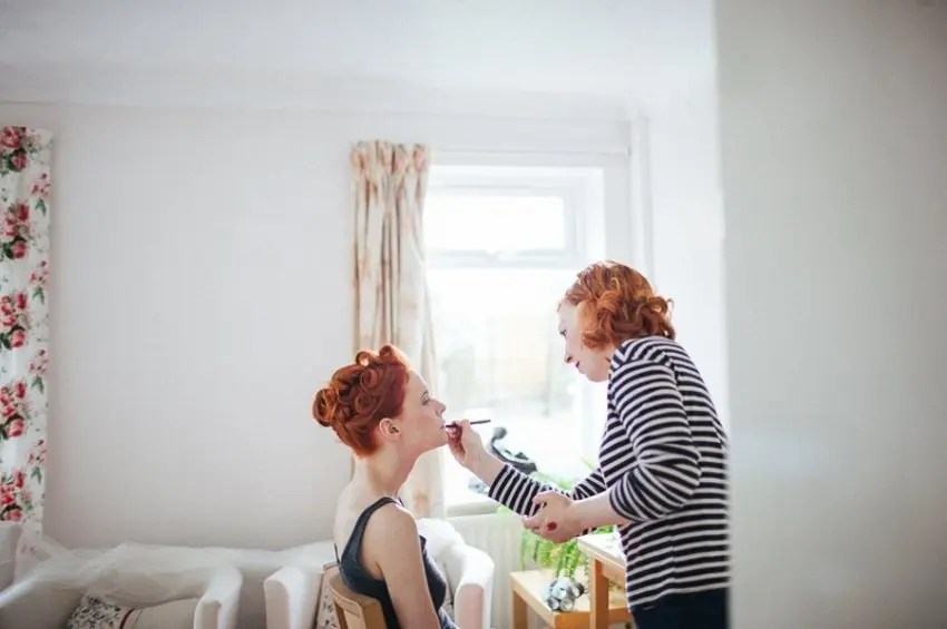 8 Questions You Should Ask Your Bridal Make Up Artist from Rebecca Loves Weddings at rebeccaanderton.co.uk