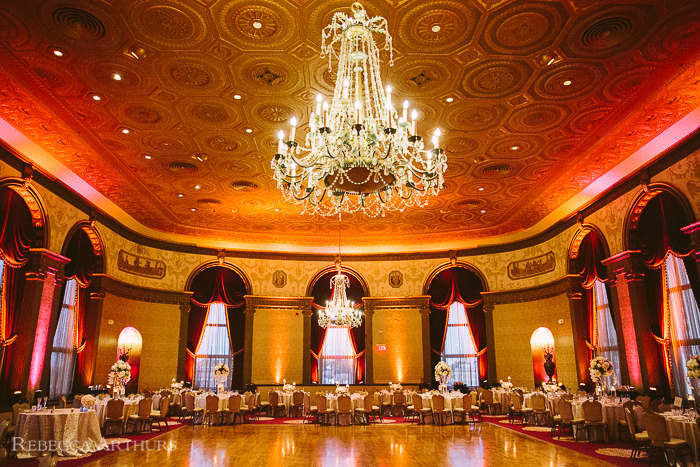Gatsby Glam Wedding Providence Biltmore Hotel Kaitlyn