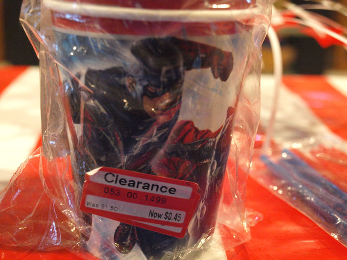 Avengers Cup Target Clearance