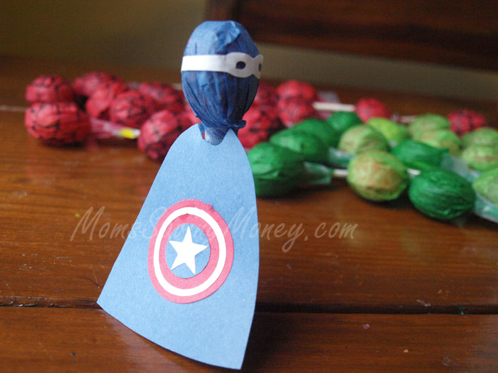 Captain America Lollipop
