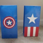 Captain America Favor Bags