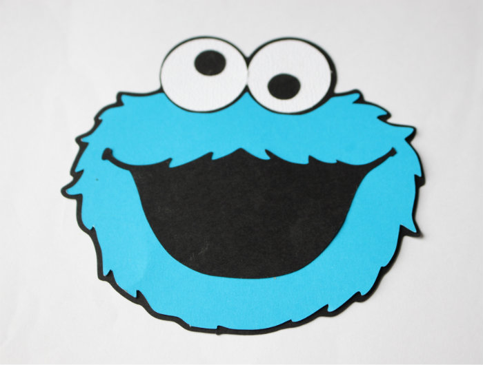Cookie Monster Invitation Rebecca Autry Creations