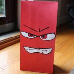 Disney Anger Favor Bag