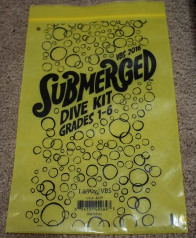 Dive Kit Submerged VBS 2016