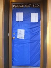 Dr. Who Door Decoration