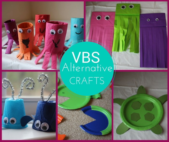 VBS Alternative Crafts Submerged 2016