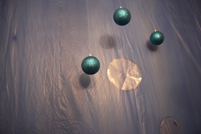 Submerged Bubbles Christmas Ornaments