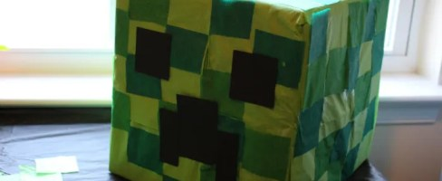 Minecraft Creeper Pinata