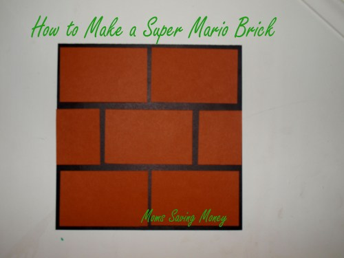 how to make a Super Mario Block
