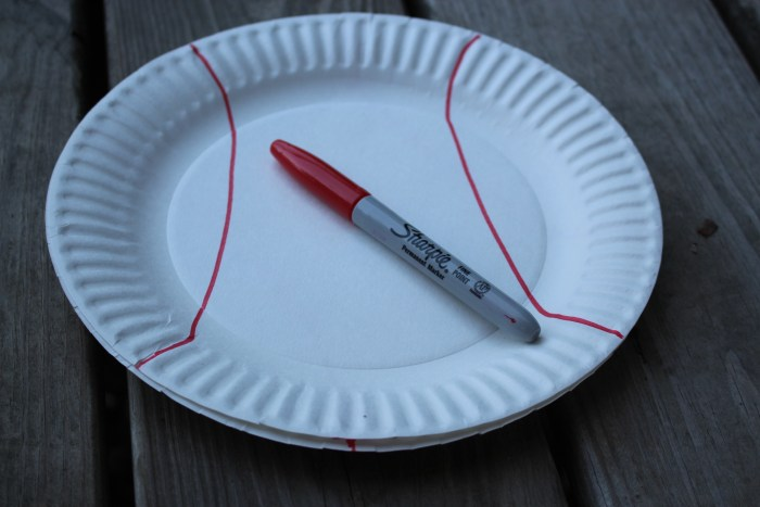 Soccer Paper Plate Craft 2
