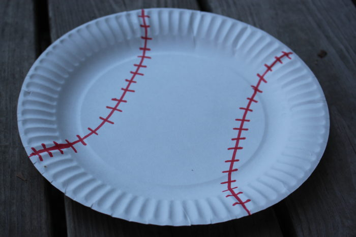 Soccer Paper Plate Craft