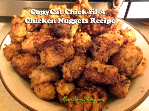 copycat chickfila chicken nugget recipe