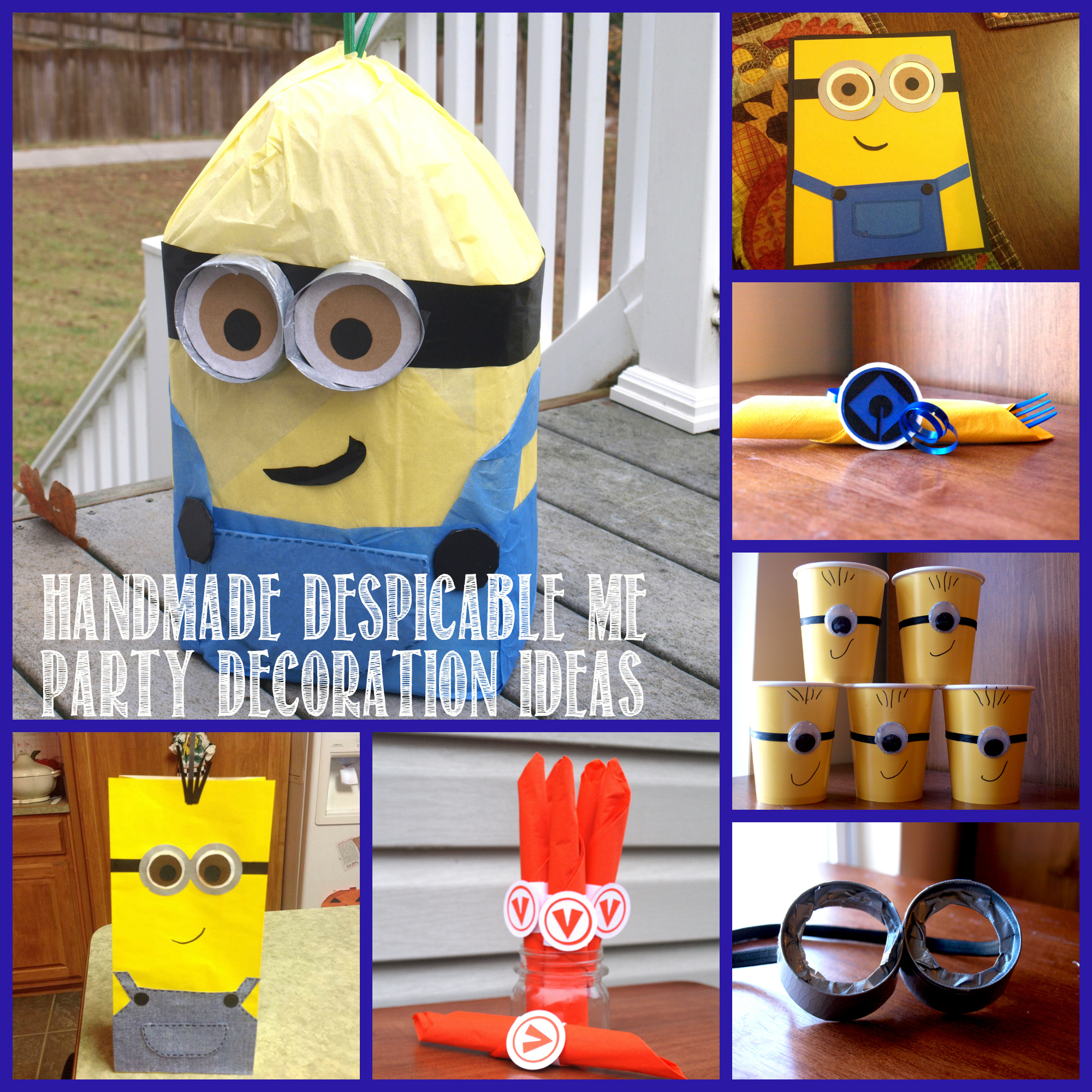 despicable me birthday party rebecca autry creations. Black Bedroom Furniture Sets. Home Design Ideas